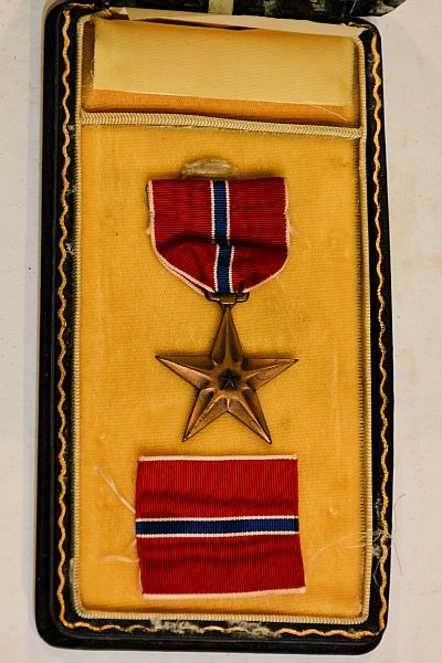 Bronze Star Metal Award